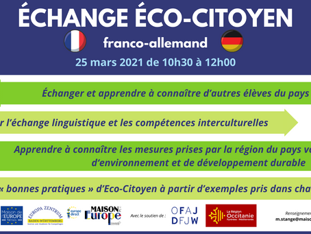 Echange Eco-Citoyen franco-allemand