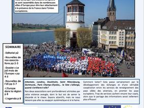 La lettre Europe Avril 2017 est arrivée !