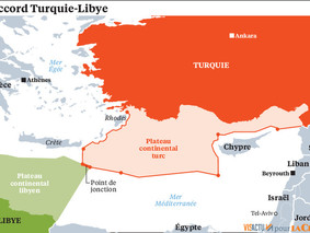Frontières maritimes et gaz naturel en Méditerranée orientale: la discorde