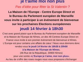 """""""L'Europe, je t'aime moi non plus"""" soirée de bienvenue pour les bénévoles de la co"""