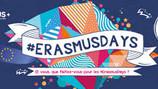 Erasmus Days : 15, 16 et 17 octobre 2020