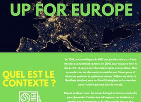 "Appel à projet ""Up for Europe"""