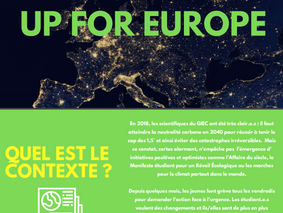 "Appel à projet ""Up for Europe"""
