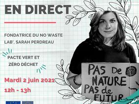 """Instalive -  Pacte Vert et """"Zéro déchet"""""""