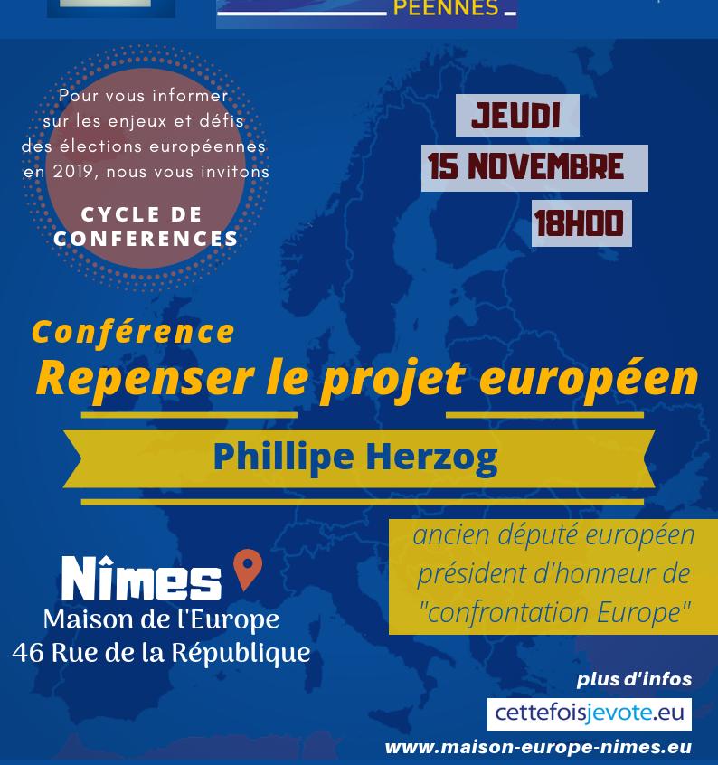 Conférence avec Phillipe Herzog