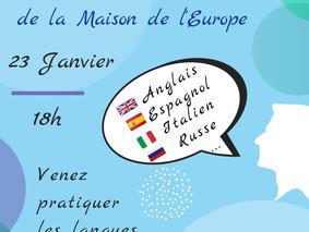Café Linguistique, 23 janvier