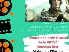 """Projection exceptionnelle """"Woman at War"""", 05 décembre 2019"""