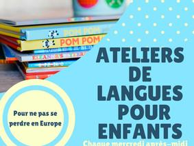 Ateliers de langues pour les jeunes à la Maison de l'Europe