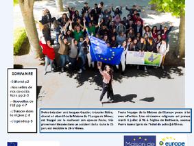 La Lettre Europe Juin 2017 est arrivée !