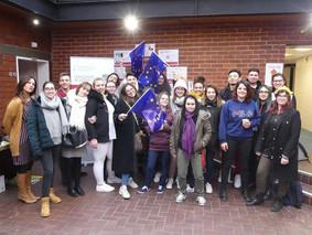 20 jeunes de Nîmes et Alès à Preston (Royaume-Uni)