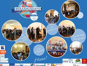 """""""Erasmus Days"""" à Nîmes: le 3ème Forum de la mobilité internationale, le 10 octobre 2019"""