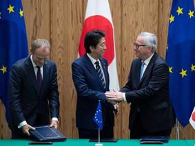 Accord de libre échange Japon - UE.. et apaisement côté USA