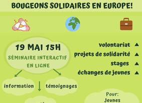 Bougeons solidaires en Europe !