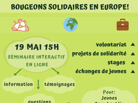Bougeons solidaires en Europe !
