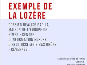 La politique de cohésion en Occitanie et en Lozère : un dossier réalisé par la Maison de l'Europe