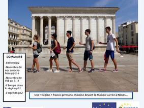 La lettre Europe Juillet-Août 2017 est arrivée !