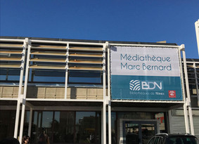 L'Europe contribue à la rénovation d'une médiathèque à Nîmes