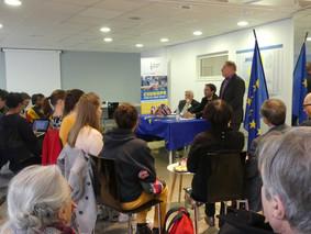 """"""" La République tchèque et l'avenir de l'Europe """" avec S. E. Petr DRULAK, Ambassad"""