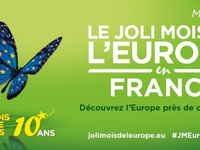 En mai, c'est le Joli Mois de l'Europe!