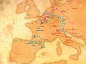 Aboutissement des efforts du Mouvement européen Marne: la Via Charlemagne est reconnue comme Itinéra