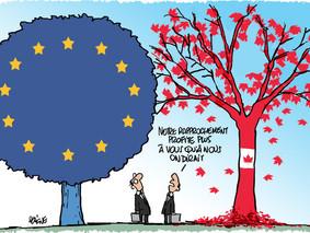 Le CETA (accord de libre échange Canada-UE): bilan après 1 an