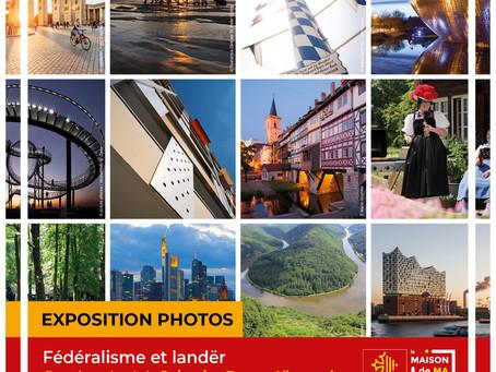 "11 octobre Vernissage Expo Photo ""Fédéralisme et Länder"""