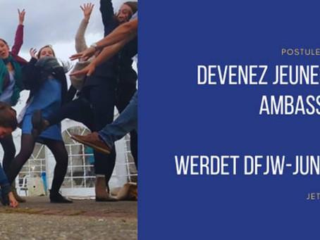 OFFRE Jeunes Ambassadrices et Ambassadeurs OFAJ 2021-2022
