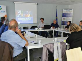 Rencontre avec la Fédération départementale des Comités de jumelages du Gard