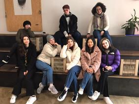 8 étudiantes du Lycée Hemingway à Prague !
