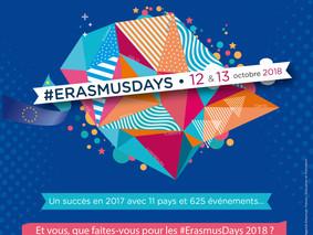 Erasmus Days 12 & 13 octobre 2018