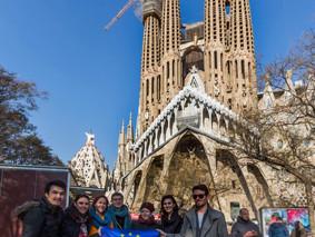 Rencontre des réseaux européens de communication à Barcelone