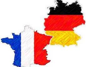 55ème anniversaire du traité de l'Elysée (traité d'amitié entre l'Allemagne et la France