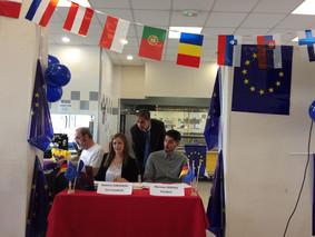Parlement européen des jeunes au Lycée Langevin de Beaucaire