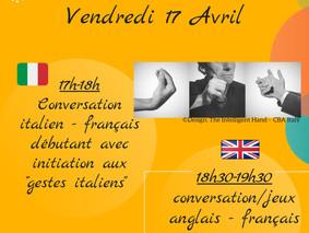 Café linguistique virtuel