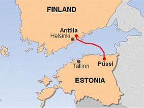 Financement européen pour un gazoduc Estonie-Finlande