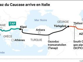 Un nouveau gazoduc pour approvisionner l'Europe depuis le Caucase