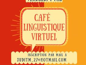 Café Linguistique Virtuel - Vendredi 1er Mai