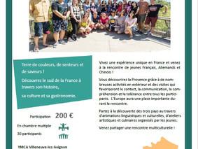 Rencontre multiculturelle pour jeunes français, allemands et chinois : devenez un citoyen du monde !