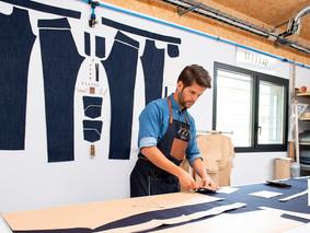 L'Europe soutient une fabrication de jeans à Florac (Lozère)