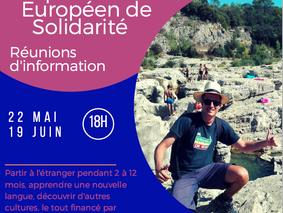 Réunion d'information S.V.E - Corps Européen de Solidarité