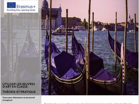 Formations pour enseignants et éducateurs à Venise - Enseigner par l'art