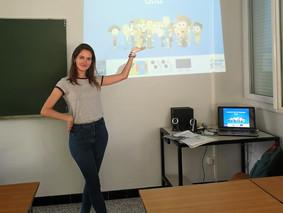 My EVS in Nîmes: Laura, volunteer from Spain