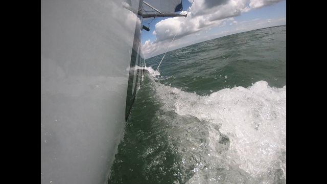 reprise des entrainements avec le pôle minitransat la Rochelle