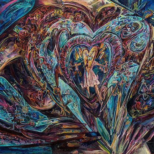 'Lovever' print