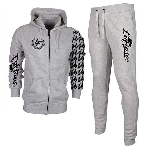 Jogger Set with signature pattern