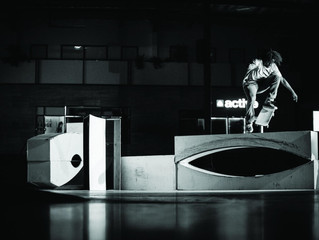 "Berrics ""10"" Anniversary Project by Keen Ramps"