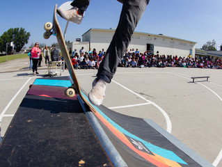 Keen Ramps Skate Demo at Collins Elementary!