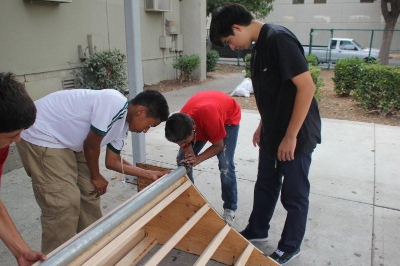 building quarter pipes