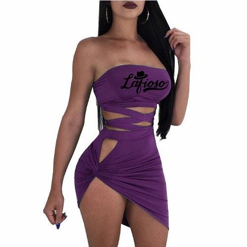 Sexy Strapless Clubwear Dress