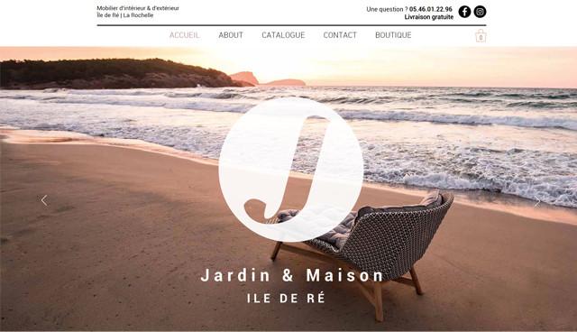 Catalogue  Jardin et Maison Ile de Ré  La Rochelle